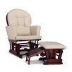 Graco Parker Semi-Upholstered Nursing Glider and Ottoman