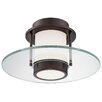George Kovacs by Minka 1 Light Flush Mount