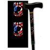 <strong>Rebel Canes</strong> Pow MIA RWB Single Point Cane