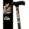 Rebel Canes Vintage Harley Girl Single Point Cane