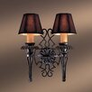 <strong>Metropolitan by Minka</strong> Montparnasse 2 Light Wall Sconce