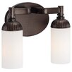 Metropolitan by Minka Industrial 2 Light Bath Light