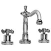 Pesaro Widespread Bathroom Faucet with Double Cross Handles