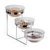 Paderno World Cuisine 3-Tier Bowl Stand and Bowls Set
