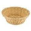 Paderno World Cuisine Round Polyrattan Bread Basket (Set of 2)