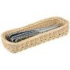 Paderno World Cuisine Polyrattan Rectangular Flatware/Bread Basket (Set of 3)