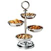Paderno World Cuisine 4-Compartment Stainless Steel Tower Display