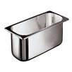 <strong>Paderno World Cuisine</strong> Ice Cream Container in Silver in Silver