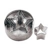 Paderno World Cuisine 6 Piece Star Dough Cutter Set (Set of 2)
