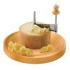 Paderno World Cuisine Girolle Wood Base Cheese Scraper
