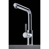 Cromo Single Handle Single Hole Theo Kitchen Faucet  with Swivel Spout