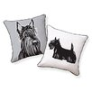 Naked Decor Scottish Terrier Pillow
