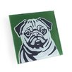 Naked Decor Pug Coaster (Set of 4)
