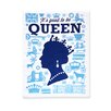 Naked Decor Good Queen Tea Towel