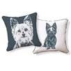 Naked Decor Yorkshire Terrier Pillow