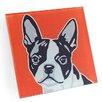 Naked Decor Boston Terrier Coaster (Set of 4)