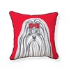 <strong>Naked Decor</strong> Shih Tzu Pillow