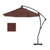 California Umbrella 9' Deluxe Crank Lift Umbrella