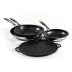 Frieling Black Cube™ 4 Piece Frying Pan Set