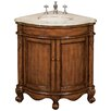 "<strong>Belle Foret</strong> 32.75"" Single Corner Vanity Set"