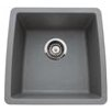 "<strong>Blanco</strong> Performa 17.5"" x 17"" Silgranit II Single Bowl Undermount Bar Sink"
