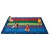 <strong>Colorful Seating Places Kids Rug</strong> by Carpets for Kids