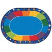 Carpets for Kids Printed Fun Area Rug with Phonics Horizontal