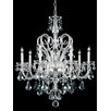 Schonbek Novielle 7 Light Crystal Chandelier