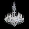Schonbek Sterling 40 Light Crystal Chandelier