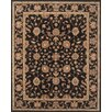 Continental Rug Company Serene Black/Brown Area Rug
