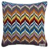 Jonathan Adler Bargello Flame Wool Pillow