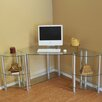 RTA Home And Office Corner Computer Desk with Dual  Modular Extenstion