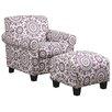 Handy Living Winnetka Chair & Ottoman