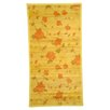Naturesort Intersection Cut Roses/Light Yellow Area Rug