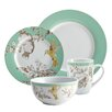 <strong>BonJour</strong> Fruitful Nectar Porcelain 16 Piece Dinnerware Set