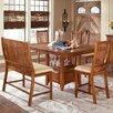 Steve Silver Furniture Tulsa 6 Piece Counter Height Dining Set