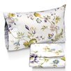 Tribeca Living Flower Park Printed Sheet Set