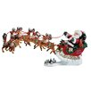 <strong>Fabriche' Musical Santa with Eight Reindeer</strong> by Kurt Adler