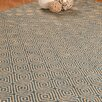 Natural Area Rugs Jute Cream / Blue Recife Area Rug