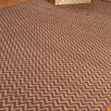 Natural Area Rugs Jute Cream / Brown Ruby Area Rug