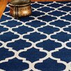 Natural Area Rugs Jute Radiance Blue Area Rug