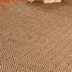 Natural Area Rugs Jute Cream / Brown Realm Area Rug