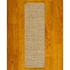 <strong>Natural Area Rugs</strong> Eclipse Beige Carpet Stair Tread (Set of 13)