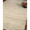 Natural Area Rugs Anchor Leather Hand Loomed Area Rug
