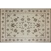 <strong>G.A. Gertmenian & Sons</strong> Avis Beige Floral Indoor/Outdoor Rug