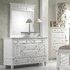 Alpine Furniture Winchester 6 Drawer Dresser
