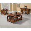 Alpine Furniture Mission Style Coffee Table Set