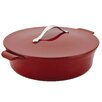Anolon Vesta 5-qt. Cast Iron Round Braiser with Lid