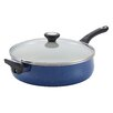 Farberware New Traditions 5-Quart Speckled Aluminum Non-Stick Jumbo Cooker with Helper Handle