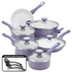 Farberware New Traditions Speckled Nonstick 14 Piece Cookware Set